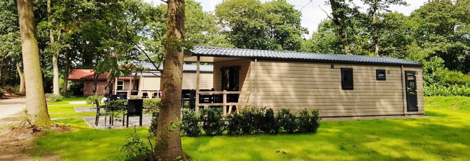 Mobilheim Basic Terrasse Lodge