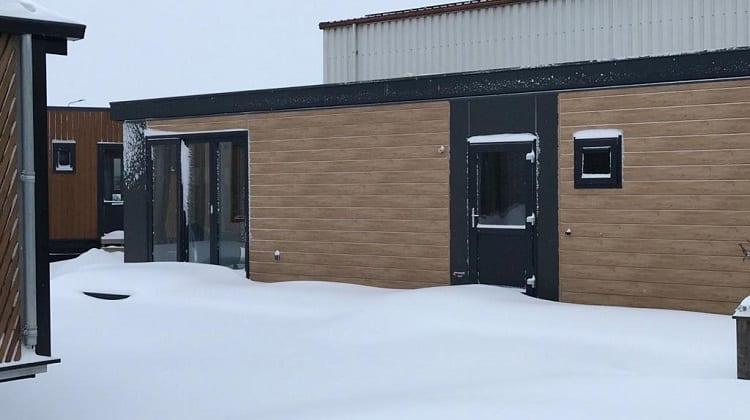 Unser Ausstellungsgelände im Schnee! Rufen Sie uns für einen Videoanruf an…